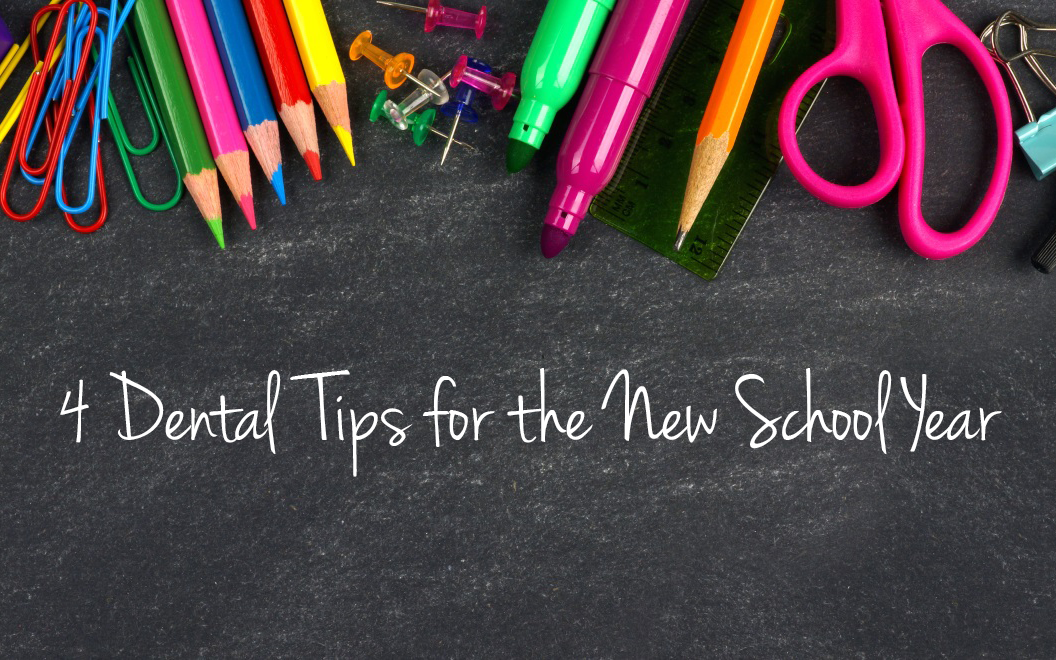 4 dental tips for the new school year - Smile Wonders